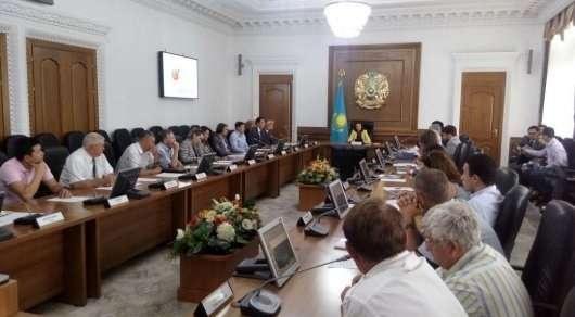Расширенное заседание по обсуждению мастер-плана горного кластера в Алматинском акимате