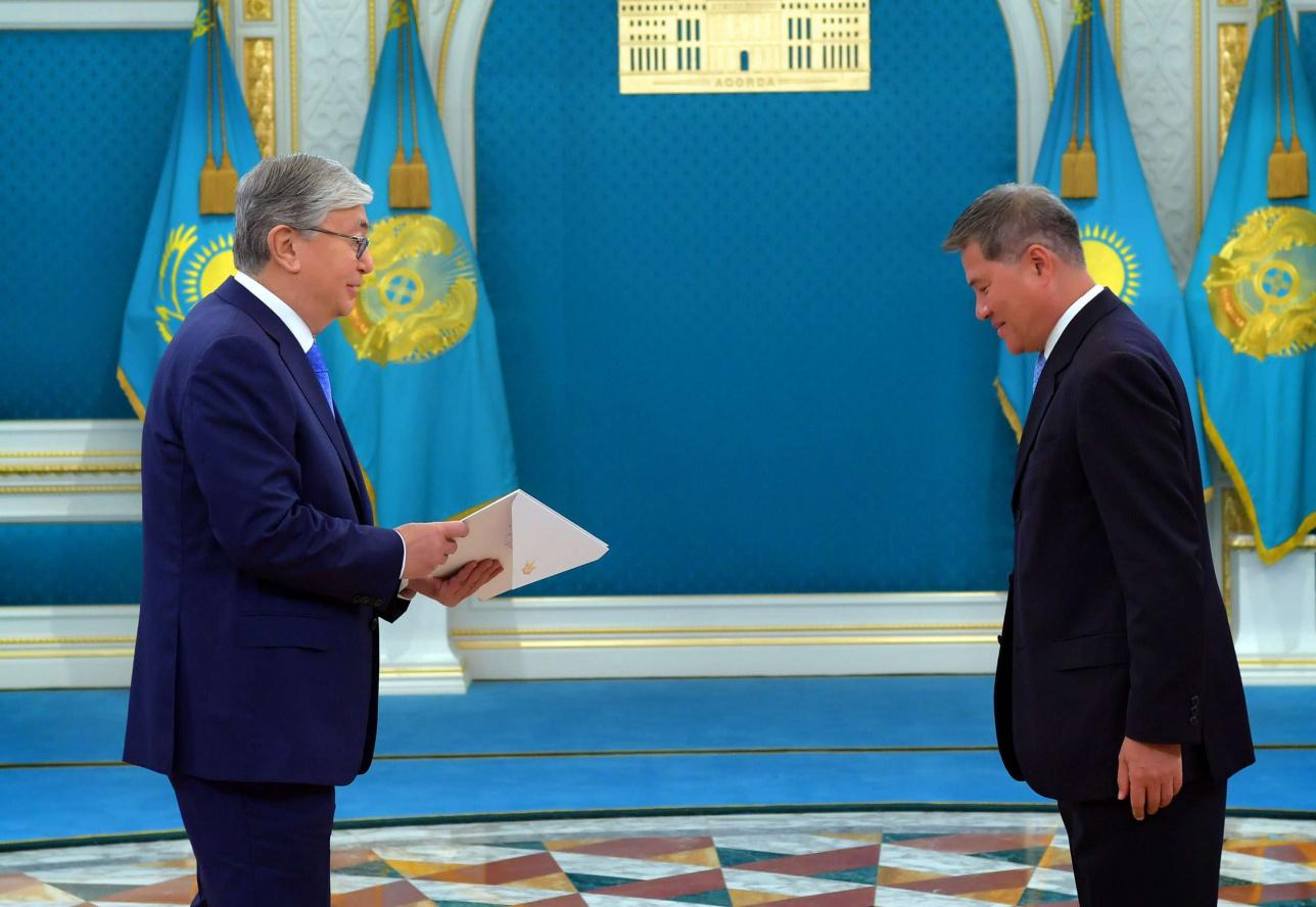 Токаев принял верительные грамоты у трёх иностранных послов