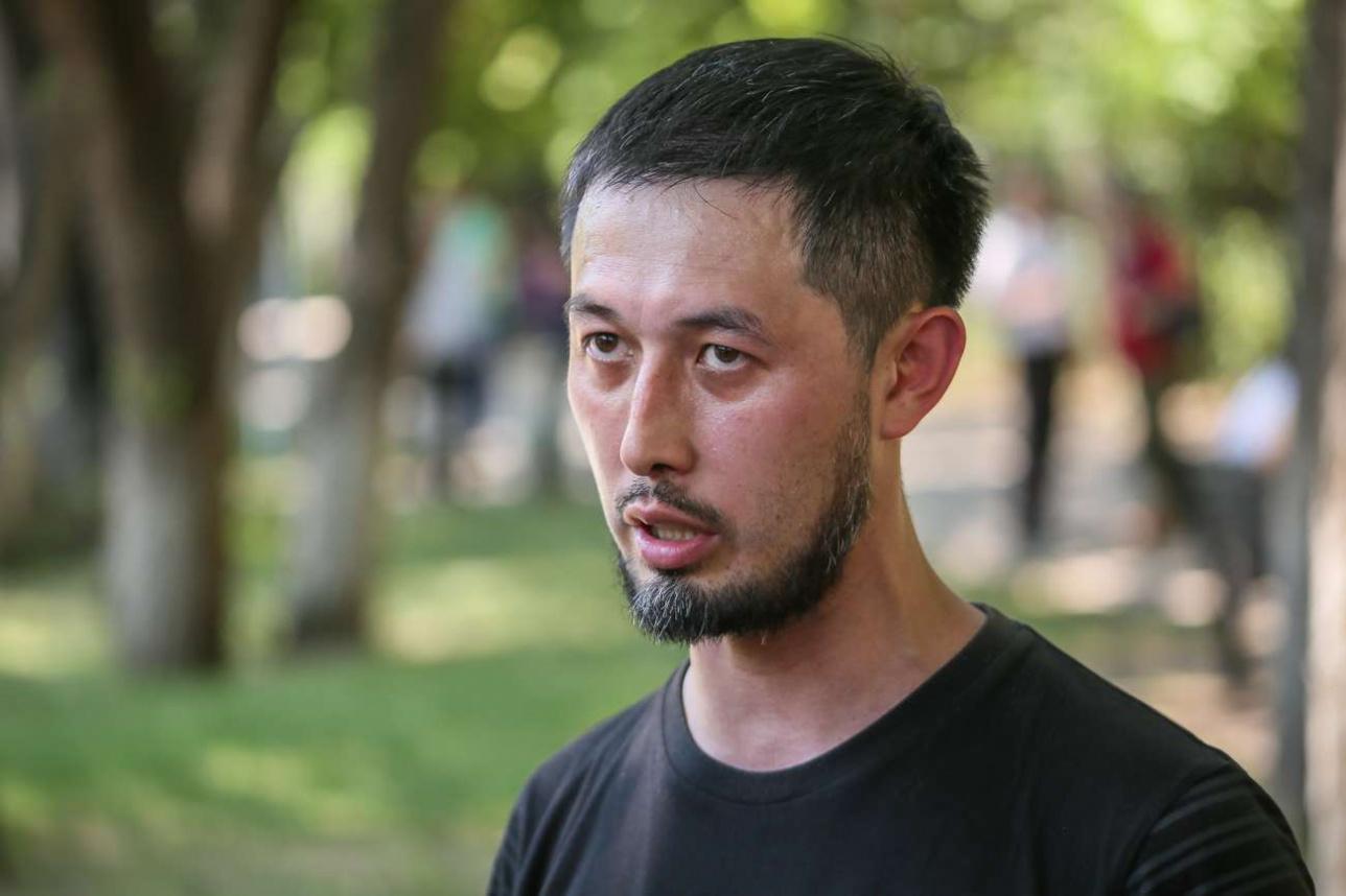 Альнур Ильяшев, организатор митинга