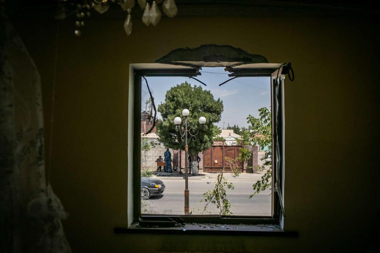Вид из окна дома Сайлаугуль