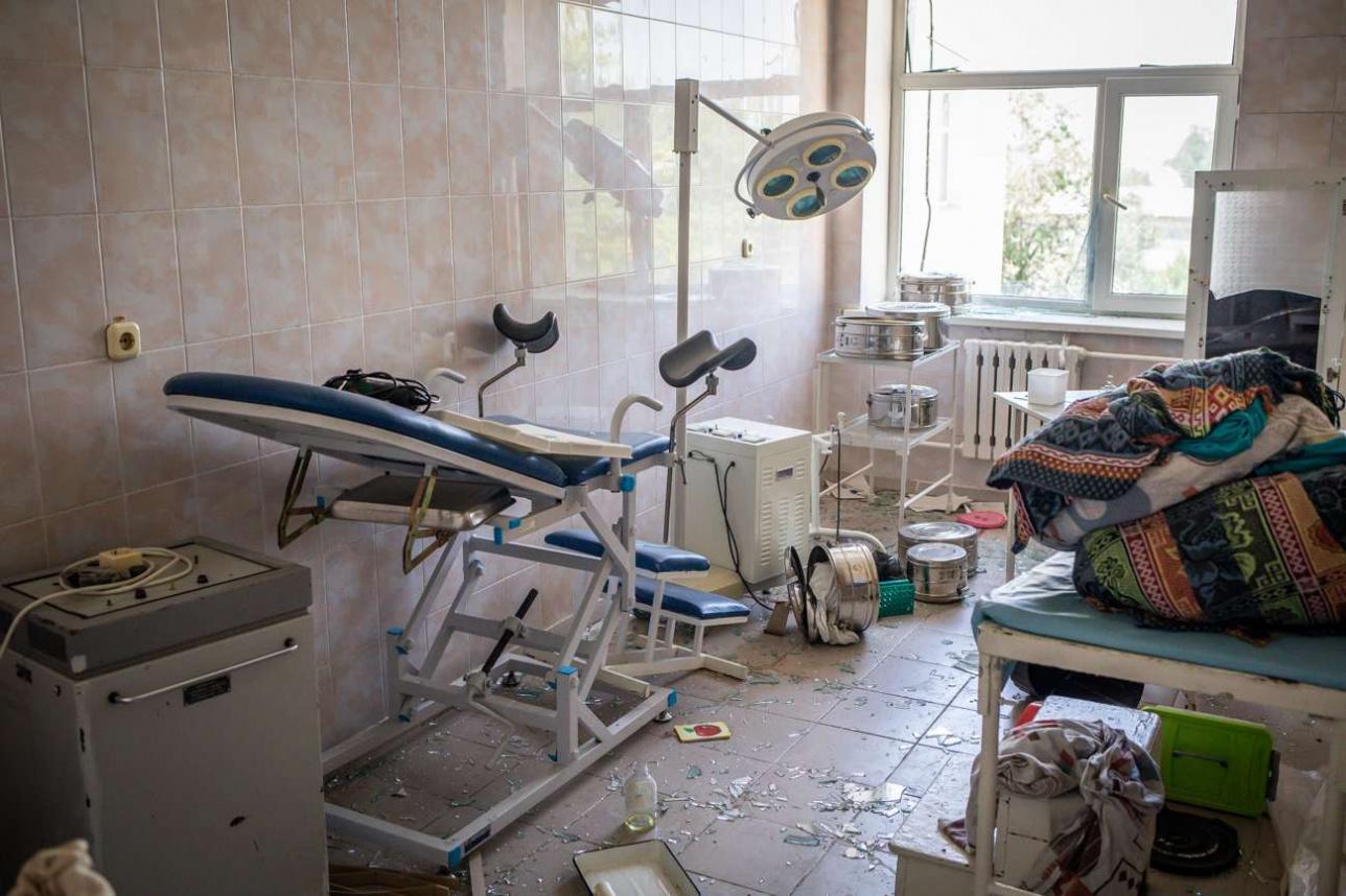 В отделении хирургии центральной больницы Арыса