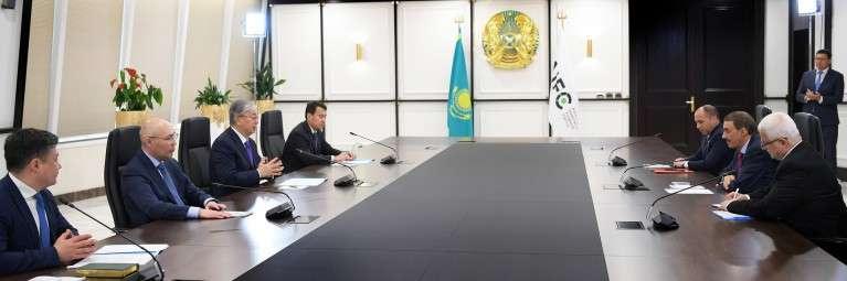 Встреча с президентом Группы Исламского банка развития