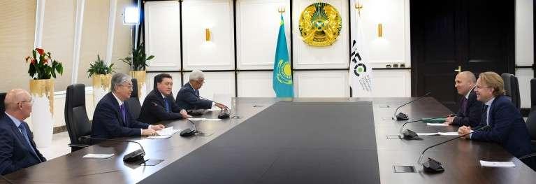 Встреча с главным исполнительным директором Bloomberg