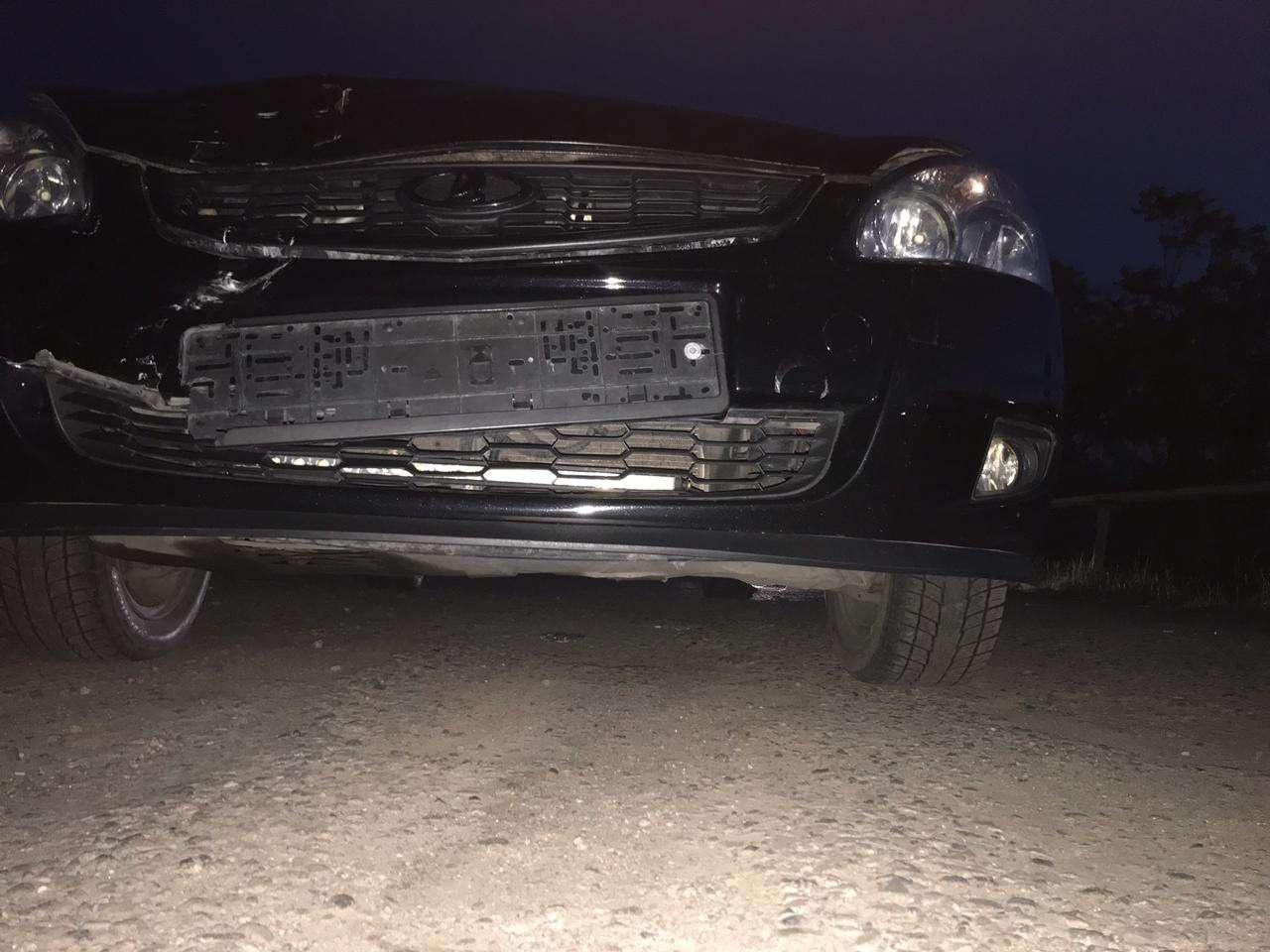 Водитель совершил наезд на полицейского в Алматы