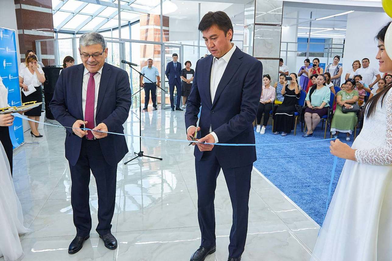 Открытие аутизм-центра в Шымкенте