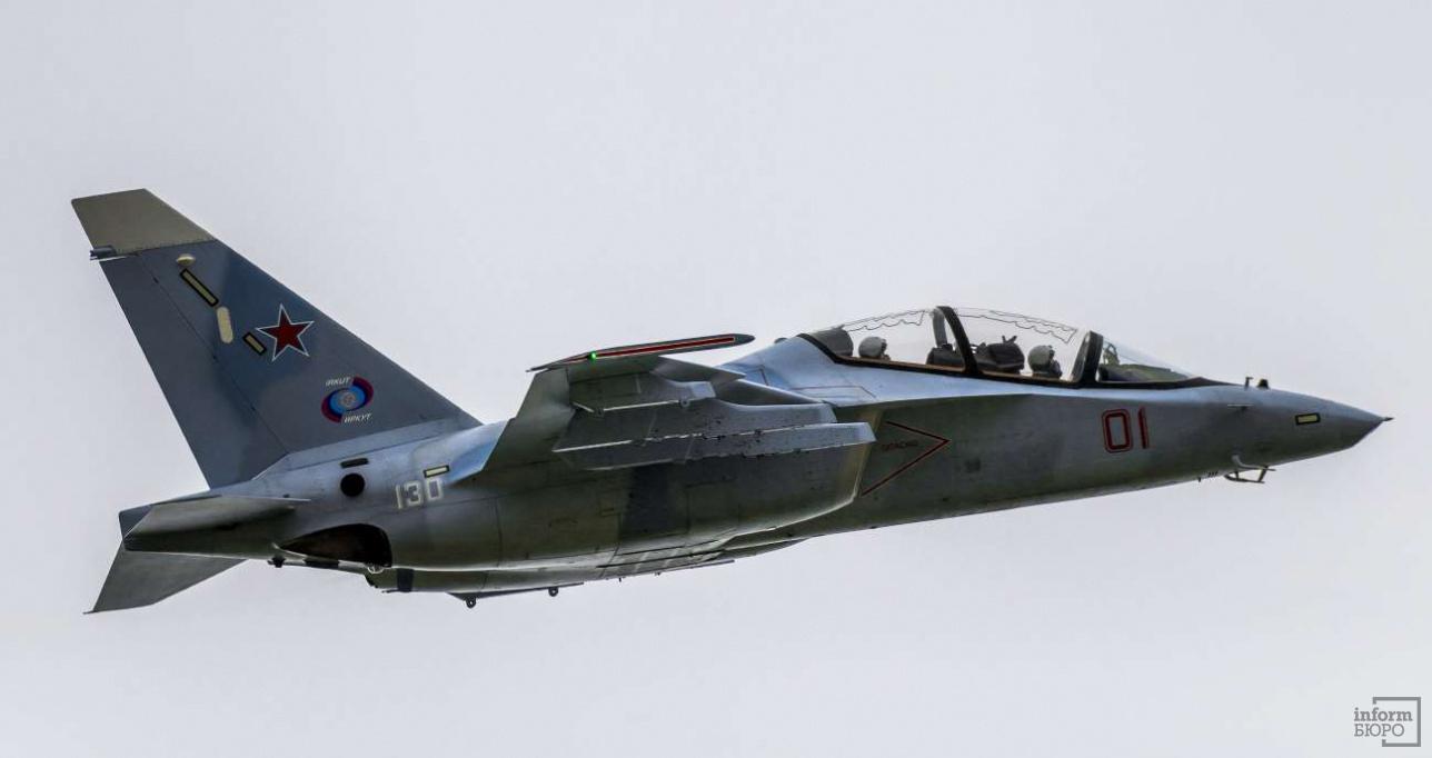 Як-130, учебно-боевой самолет, легкий штурмовик