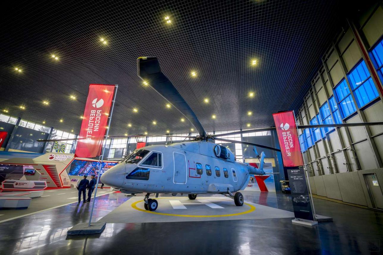 Новейший транспортный Ми-38Т