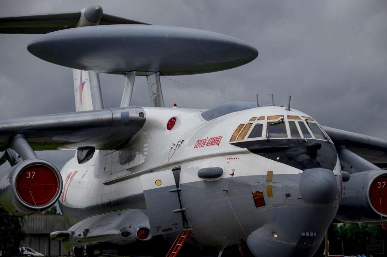 Самолет ДРЛО (дальнего радиолокационного обнаружения) A-50