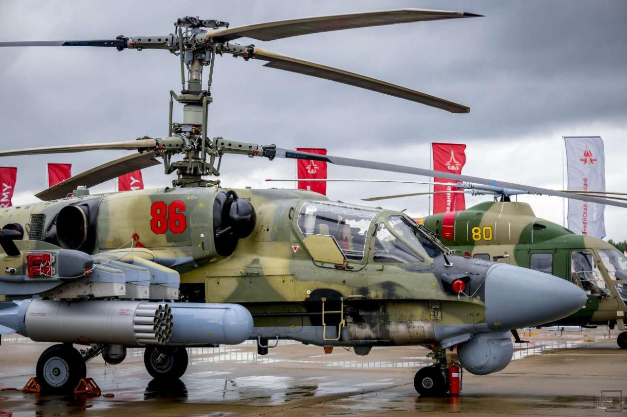 Вертолетная статика в Кубинке