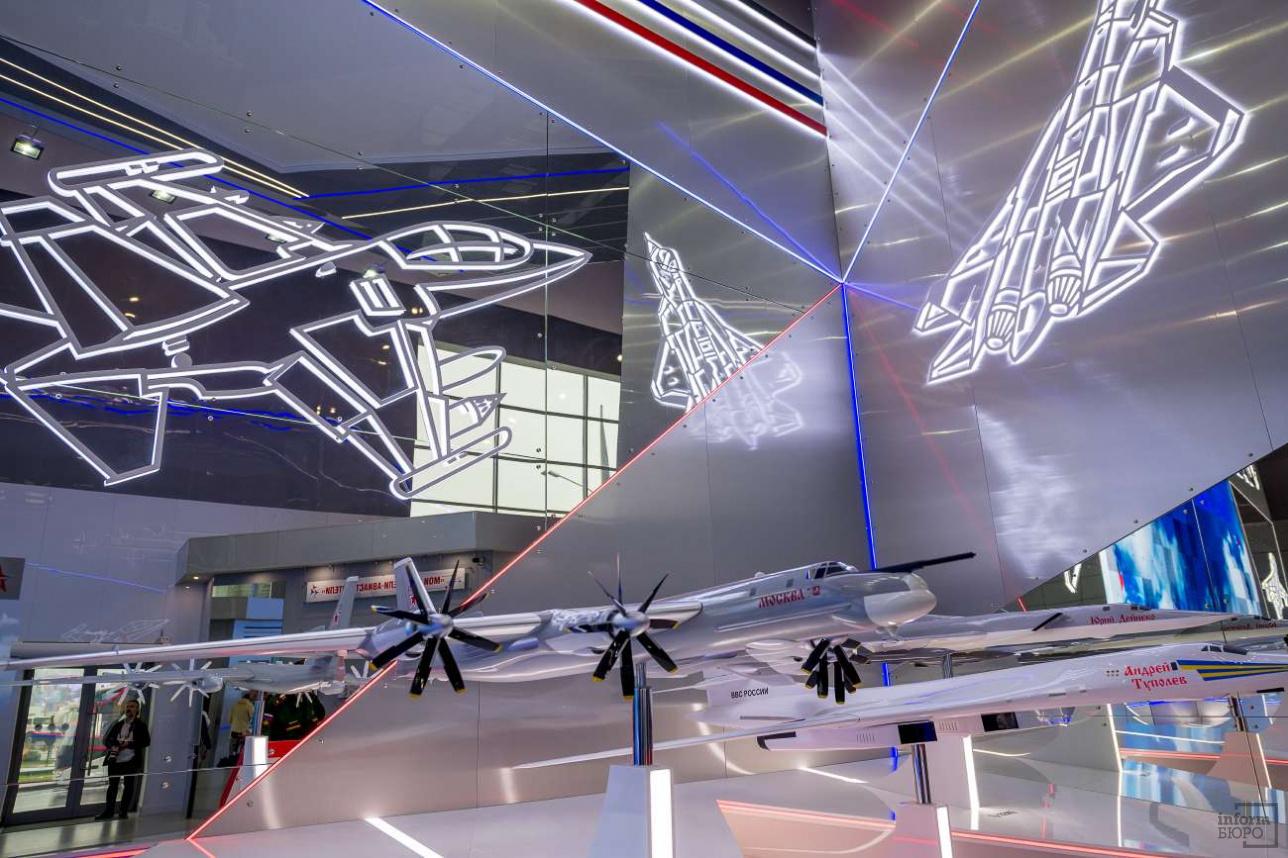 Павильон российской Объединенной авиастроительной корпорации