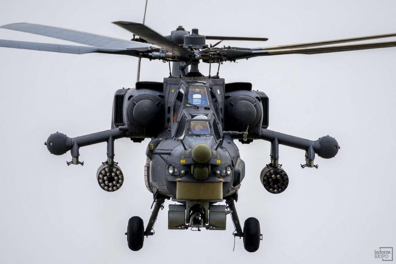 """Ми-28Н """"Ночной охотник"""", российский ударный вертолет"""