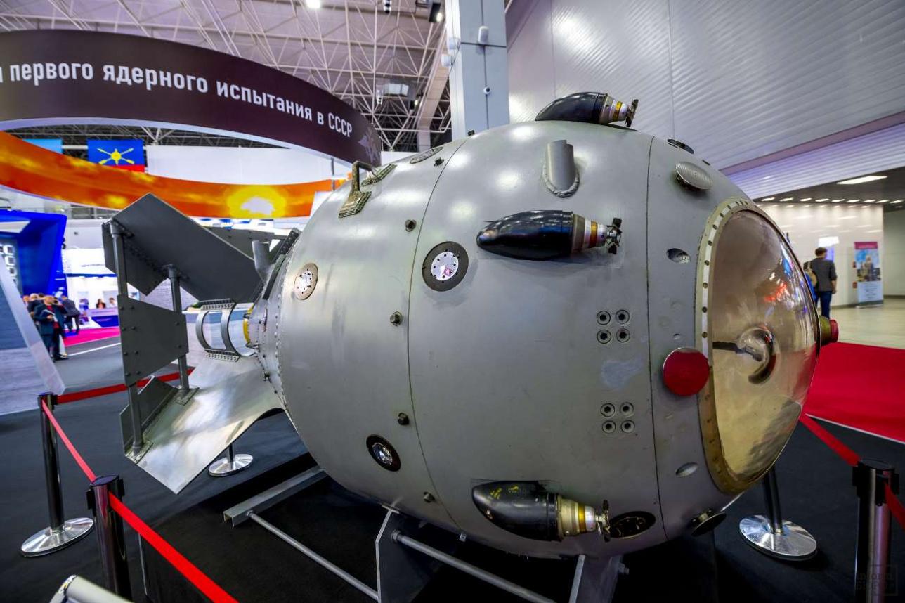 Первая советская серийная атомная бомба РДС-1