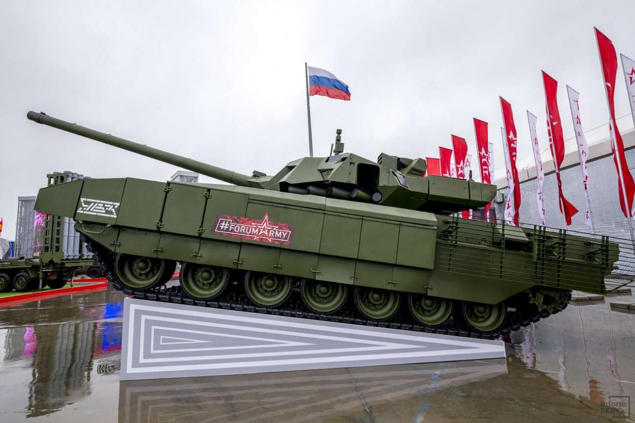 """Основной боевой танк Т-14 """"Армата"""""""