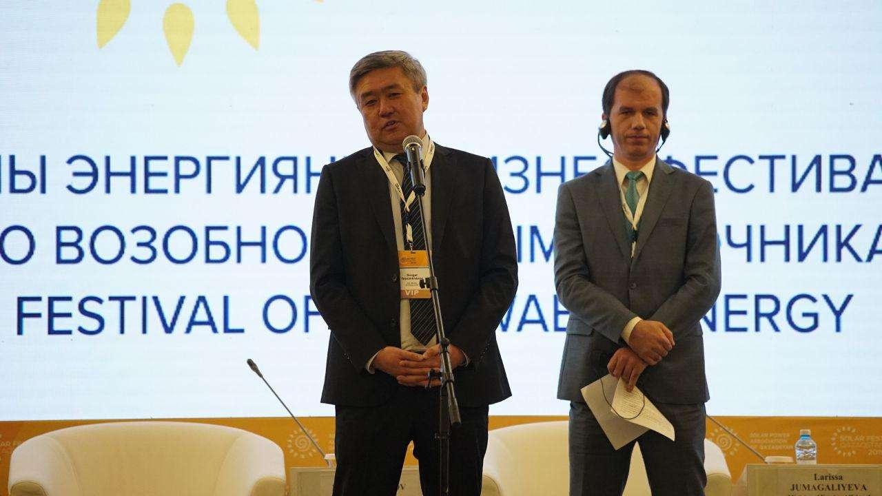 вице-министр энергетики РК Сунгат Есимханов