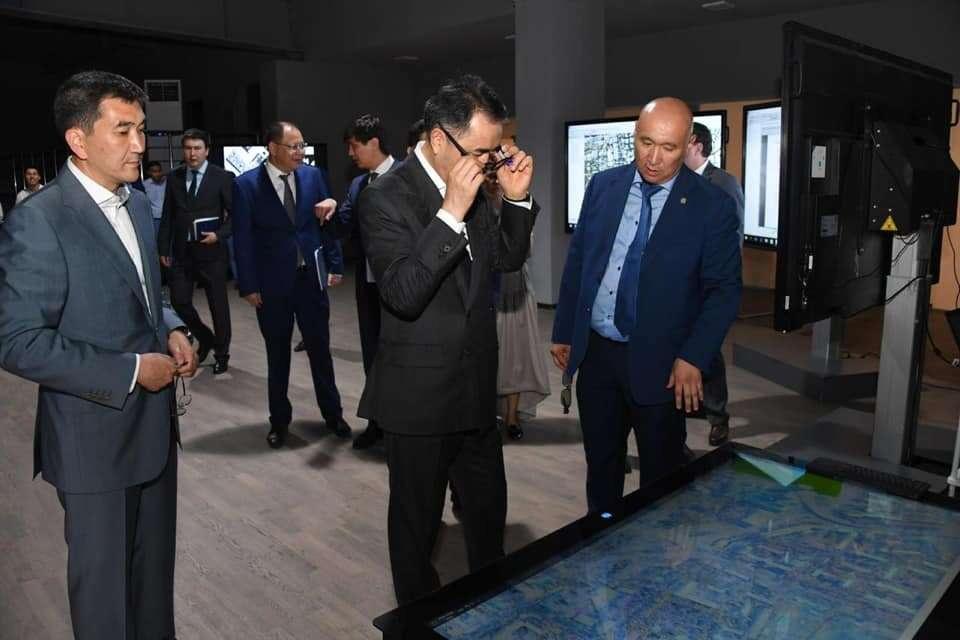 Аким Алматы посетил Центр урбанистики