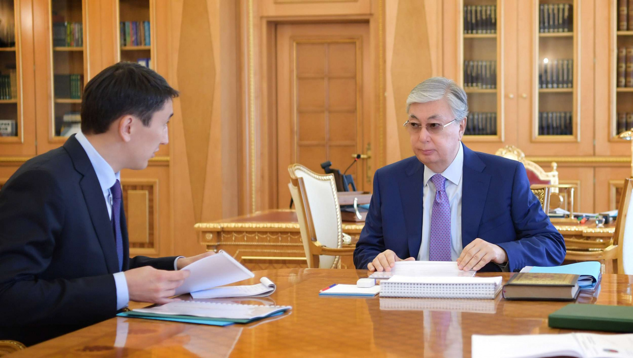 Касым-Жомарт Токаев и Магзум Мирзагалиев