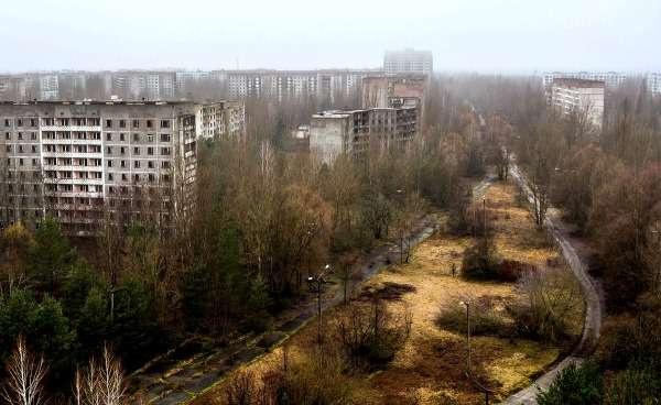 Жан адамға жолауға болмайтын Припять қаласы