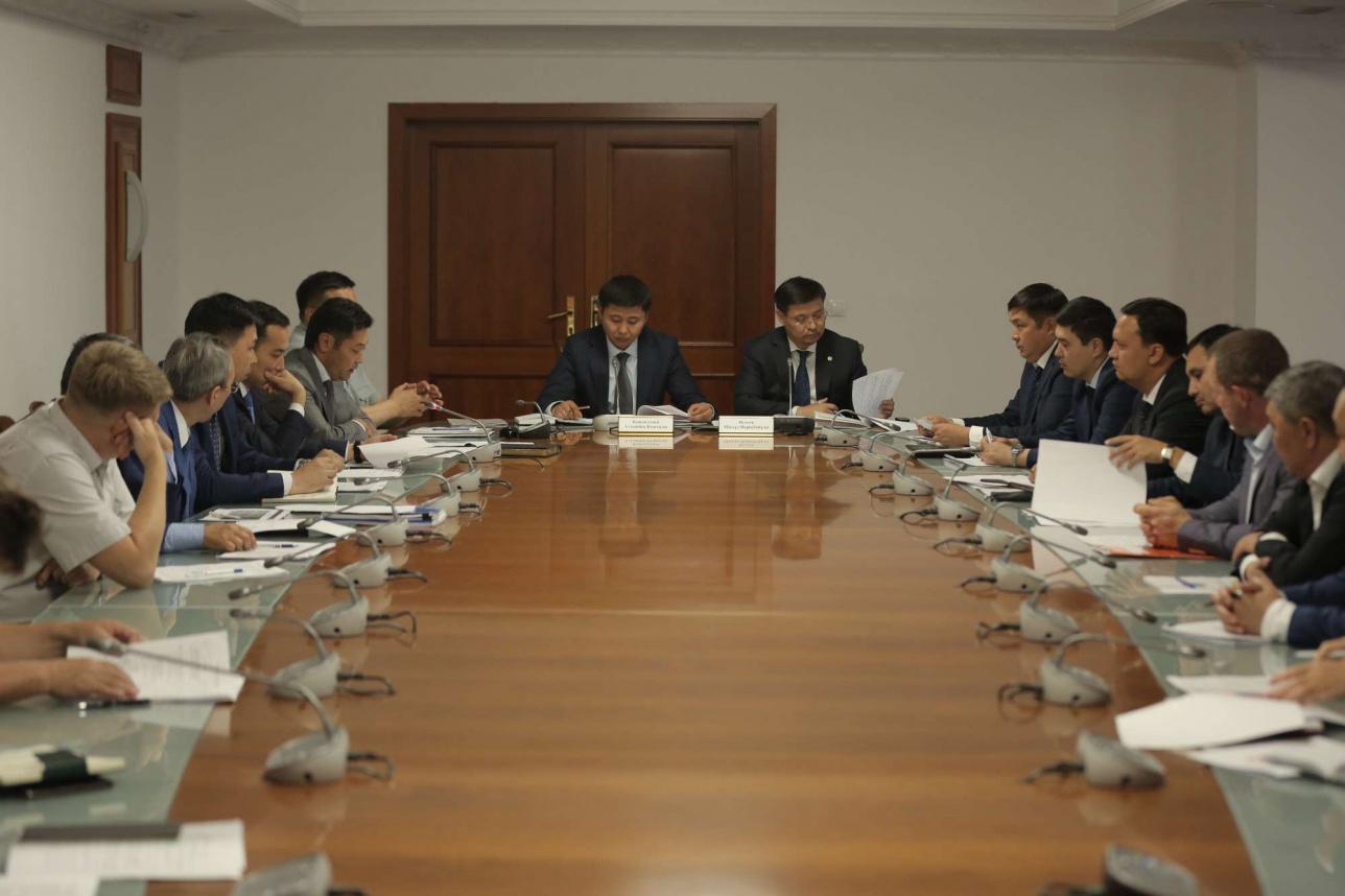 Заседание по подготовке к отопительному сезону в Нур-Султане