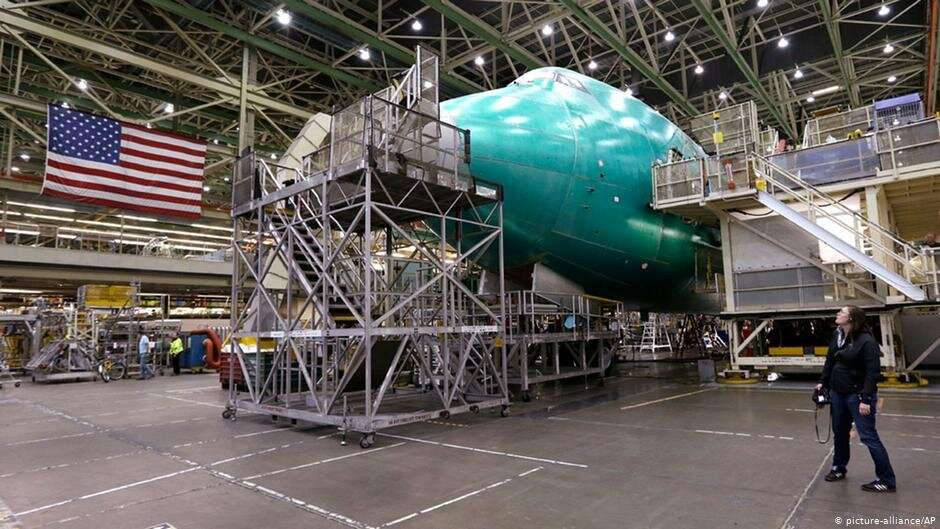 Сборочное производство концерна Boeing