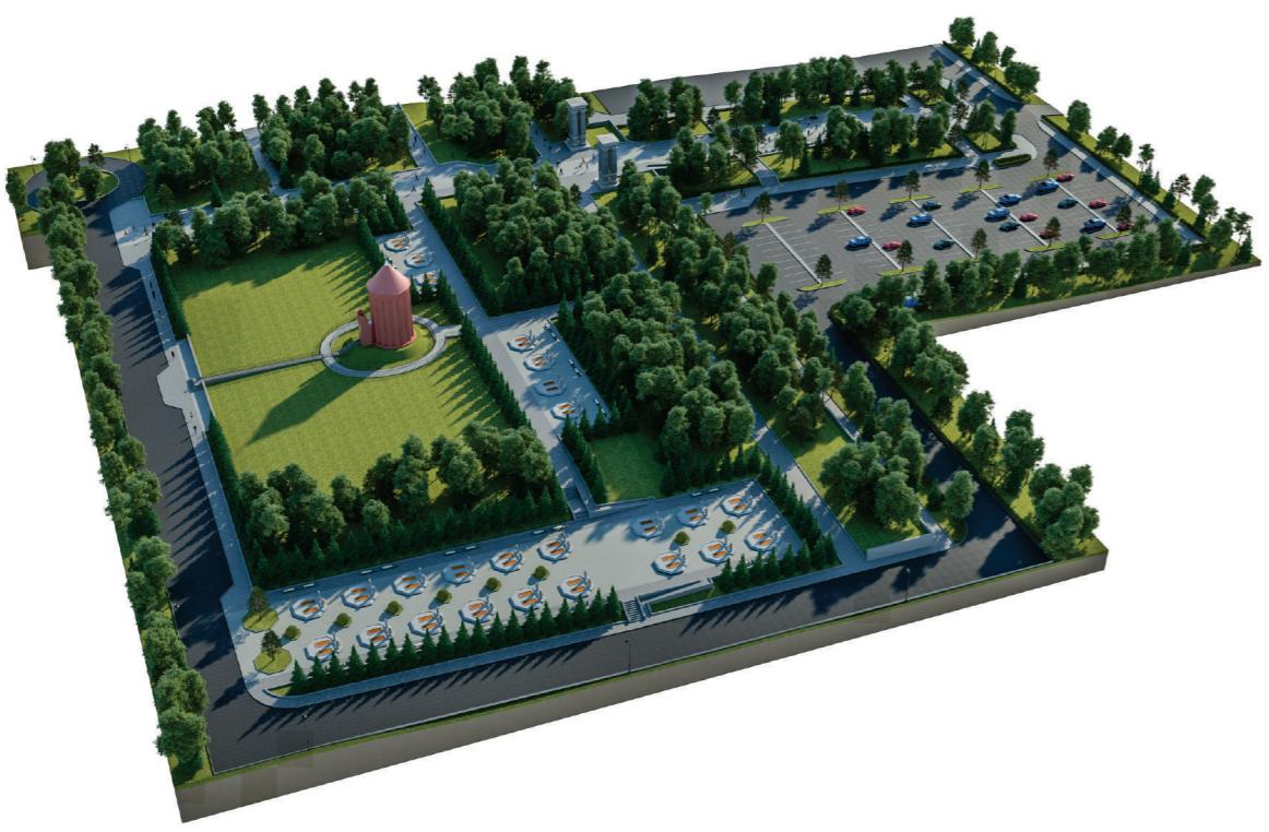 Как должна была выглядеть первая очередь строительства пантеона