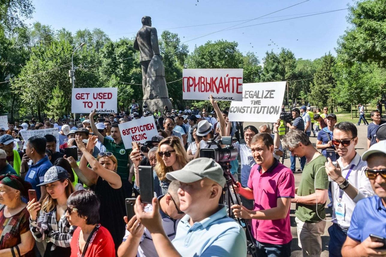Первый разрешённый митинг в Алматы за последние 11 лет. 30 июня 2019 года