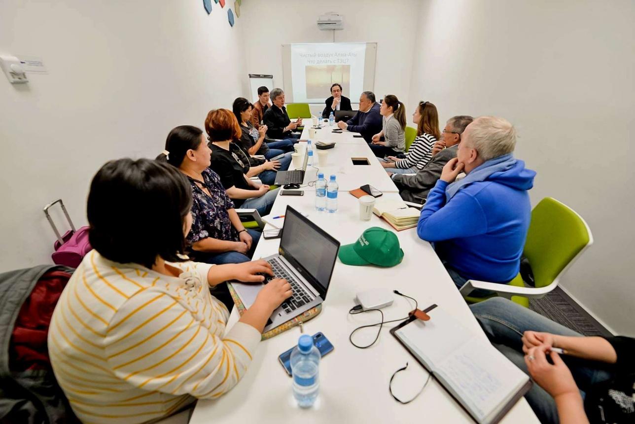 """Первое заседание экспертной группы """"Чистый воздух Алматы"""". 25 марта 2019 года"""