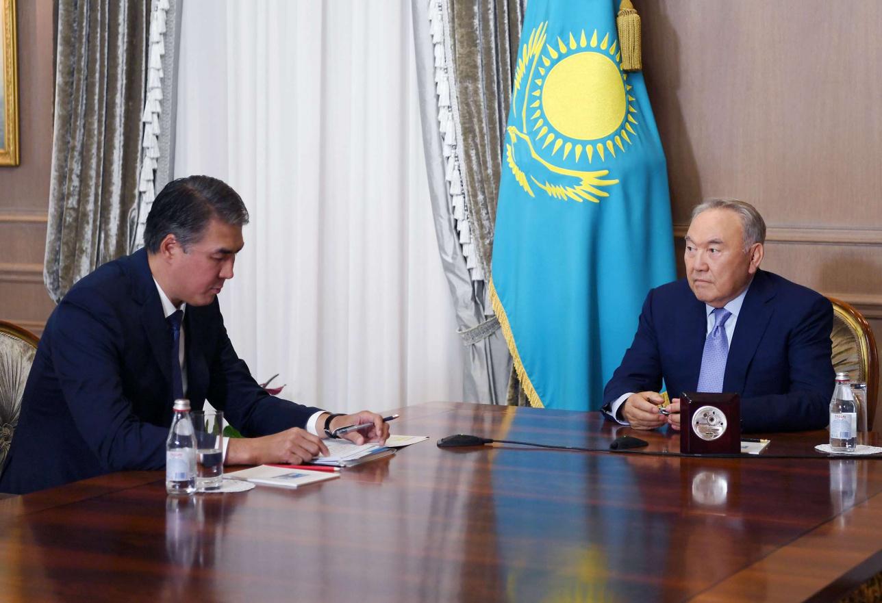 Нурсултан Назарбаев принял Асета Исекешева