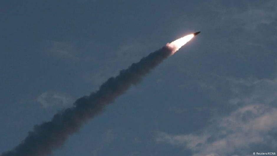 Запуск ракеты Северной Кореей