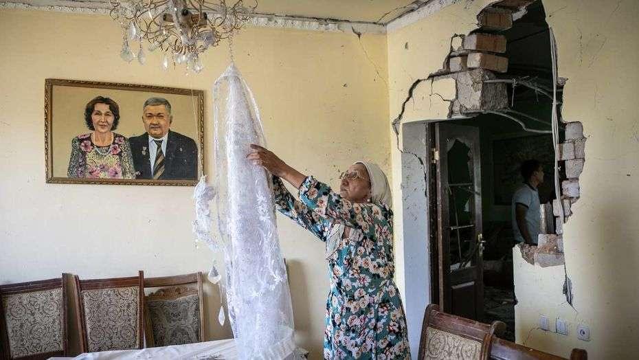 Фото до ремонта в доме Сайлаугуль Шынлаубаевой
