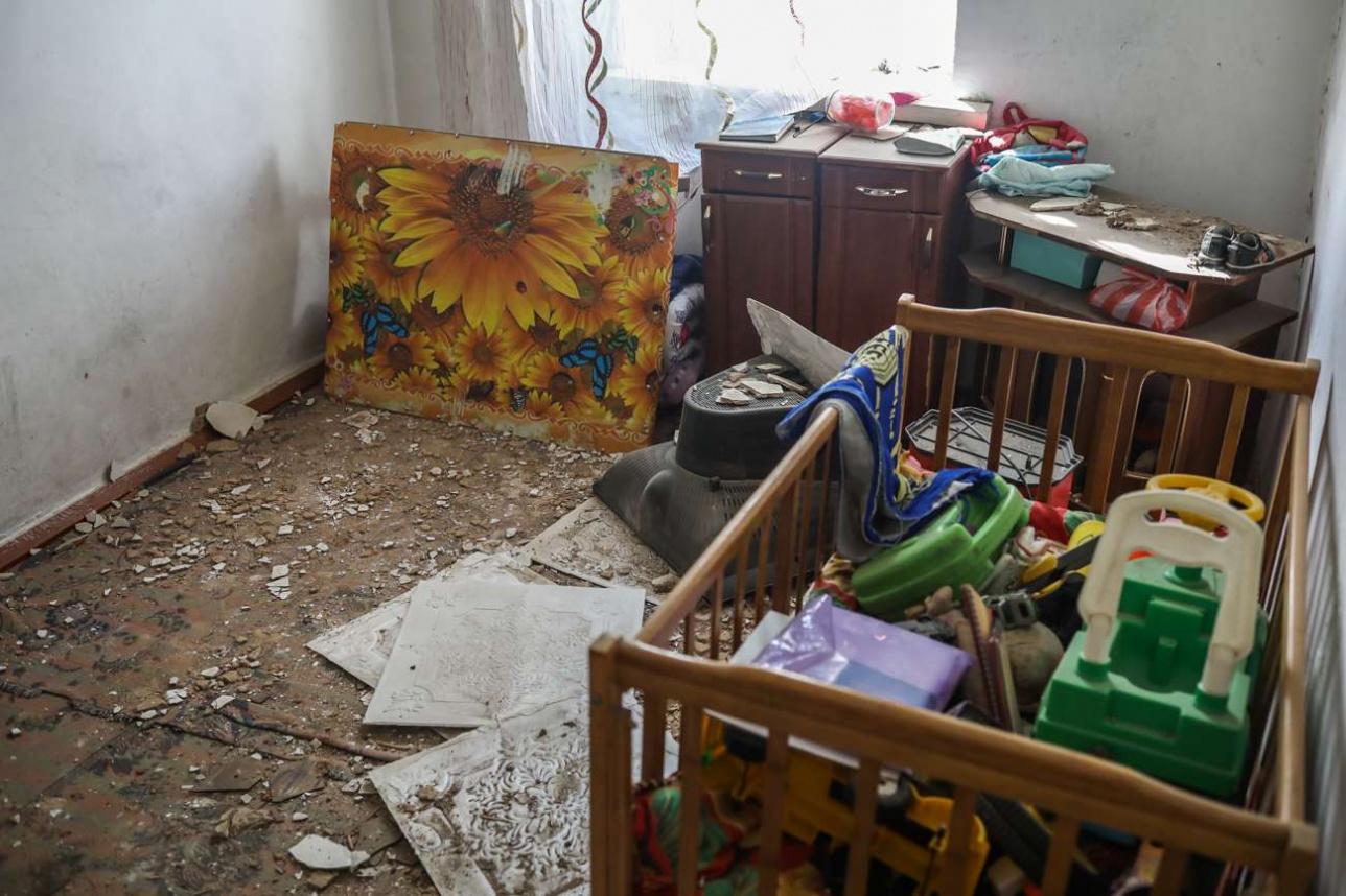Вот так выглядит квартира Роллана после взрывов