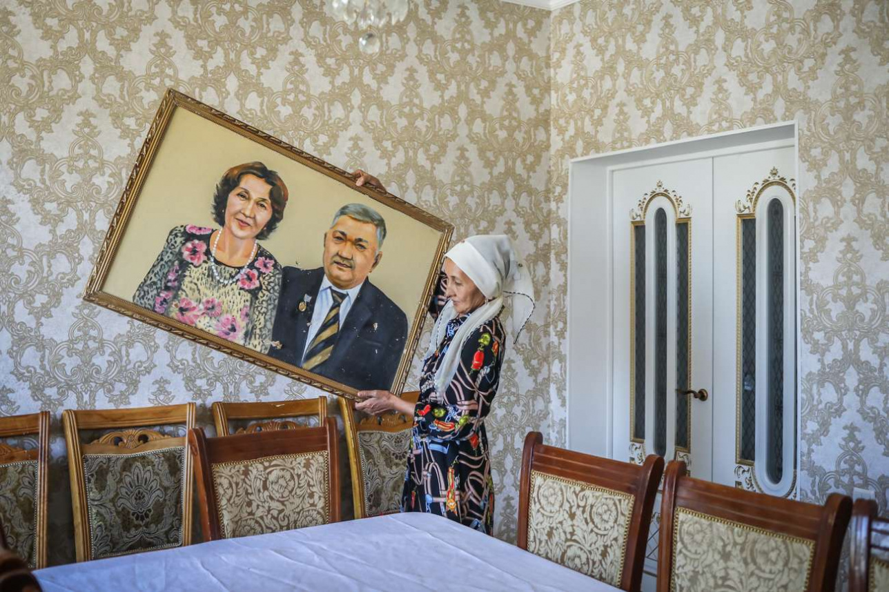 После ремонта в доме Сайлаугуль Шынлаубаевой