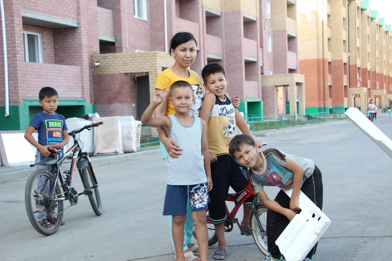 Улболсын Намиалиева 10 лет стояла в очереди на квартиру