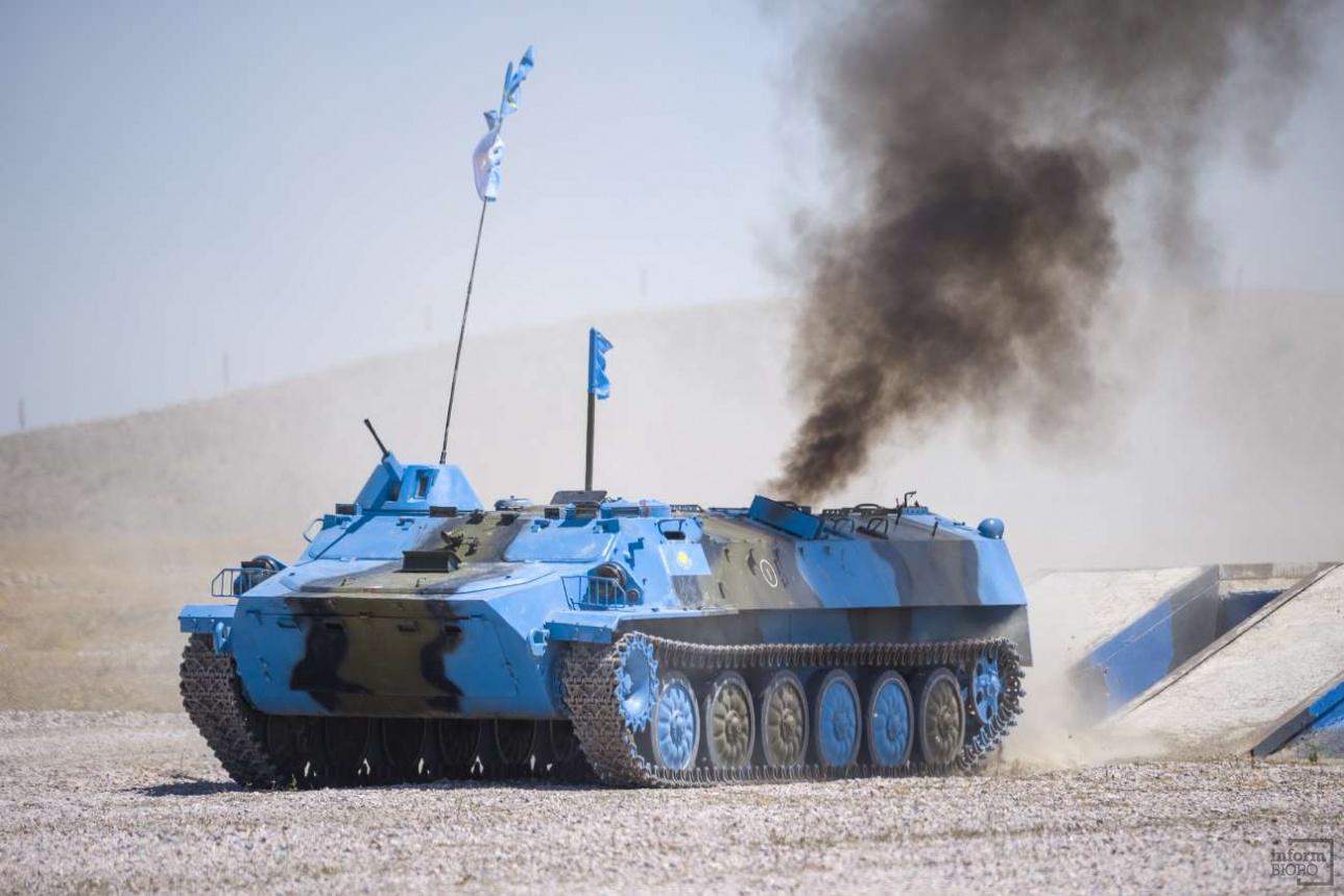 МТ-ЛБ казахстанской команды