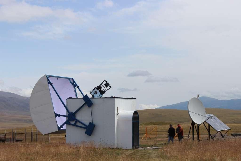 Телескоп на плато Ассы-Тургень