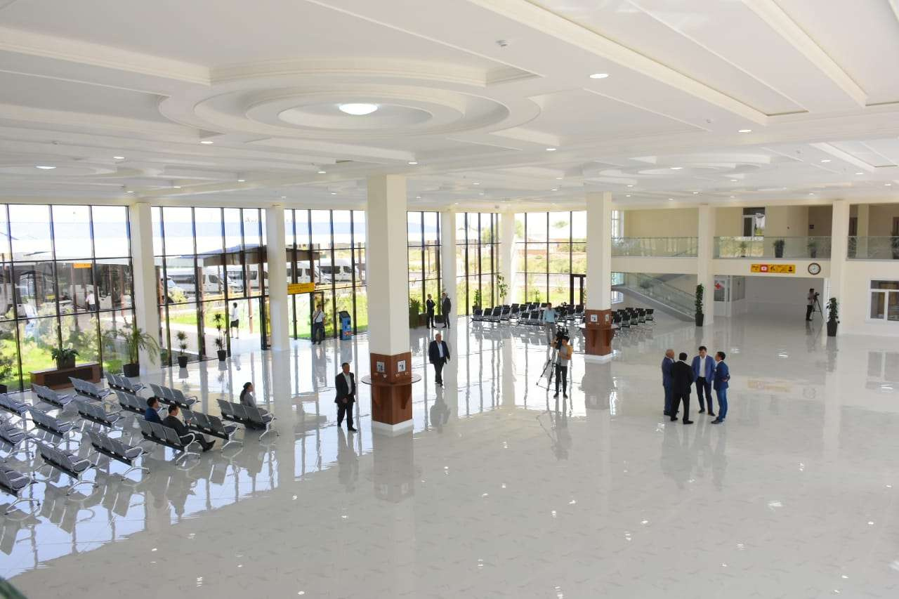 Автовокзал в Туркестане