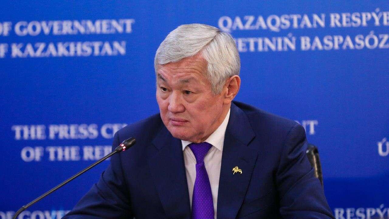 Заместитель премьер-министра Бердибек Сапарбаев