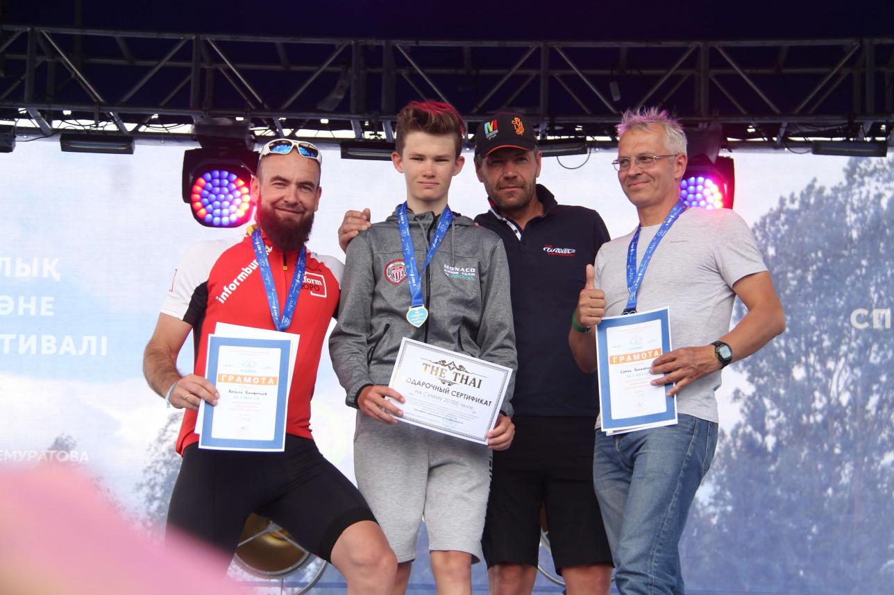 Победители в дистанции 70 км