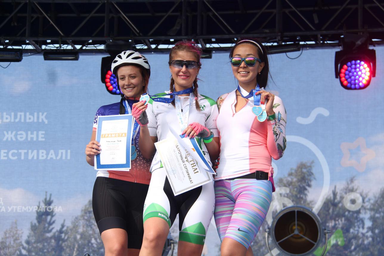 Победительницы в дистанции 70 км