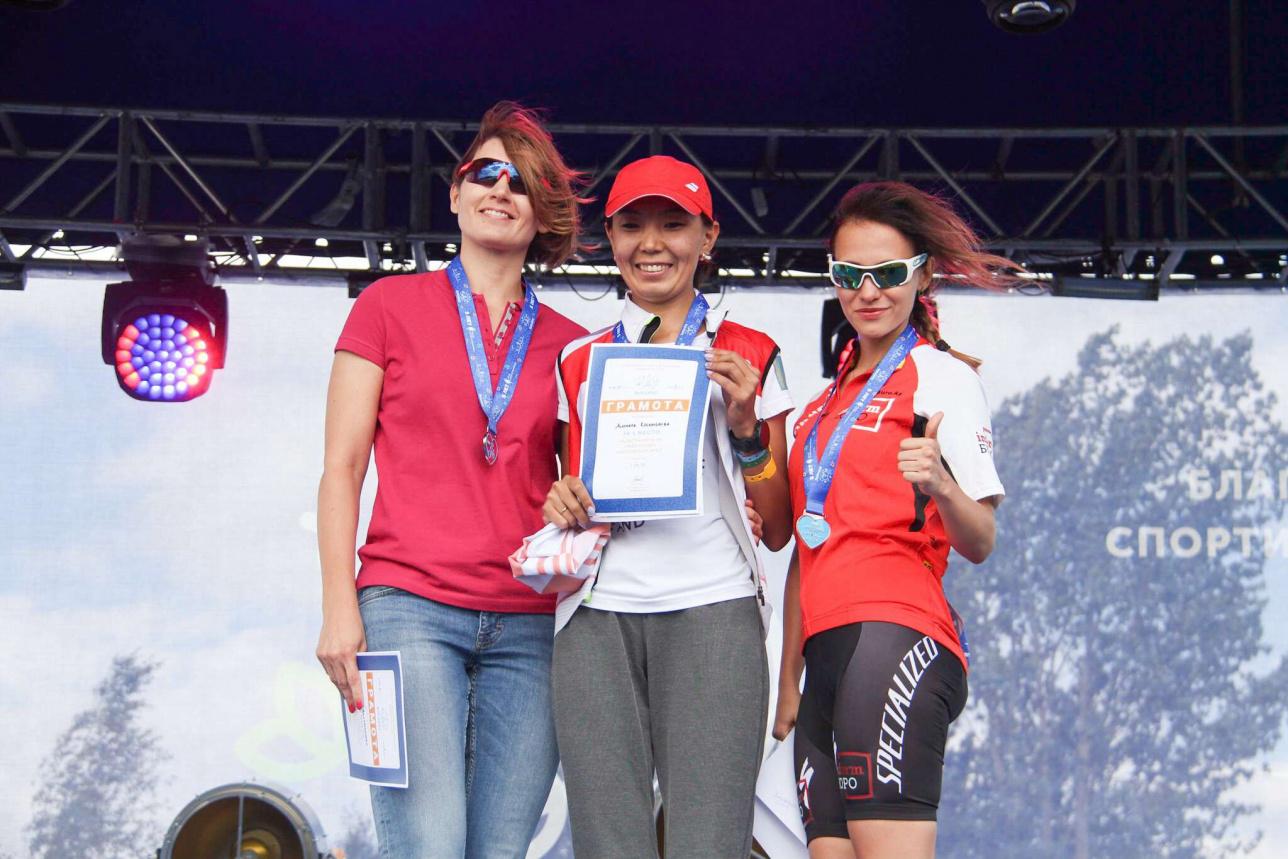 Победители в дистанции 35 км
