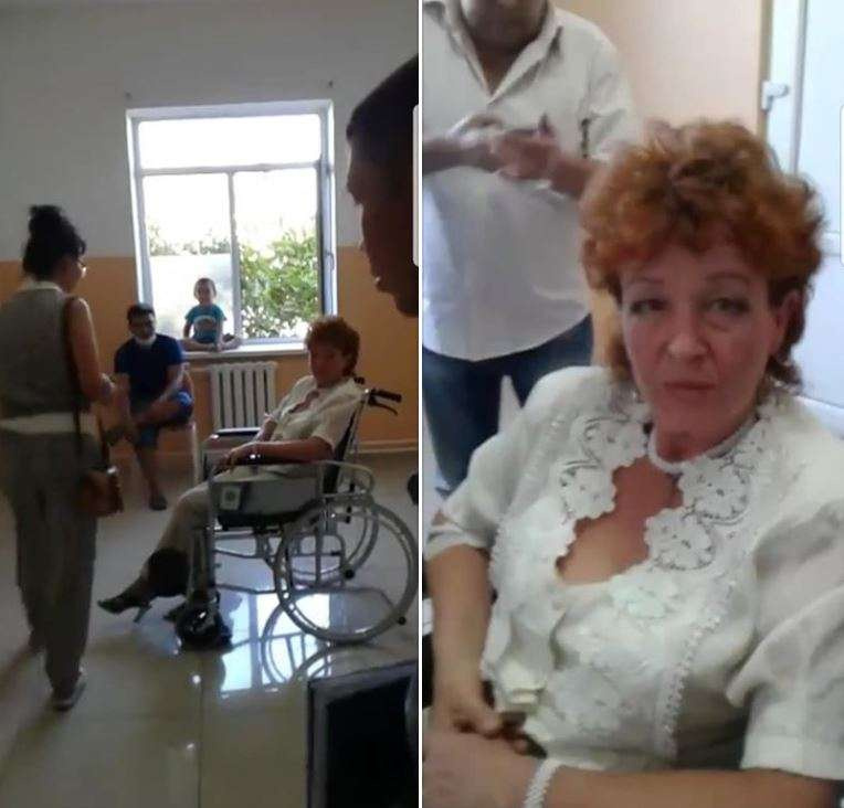 Галина Арзамасова в областной больнице