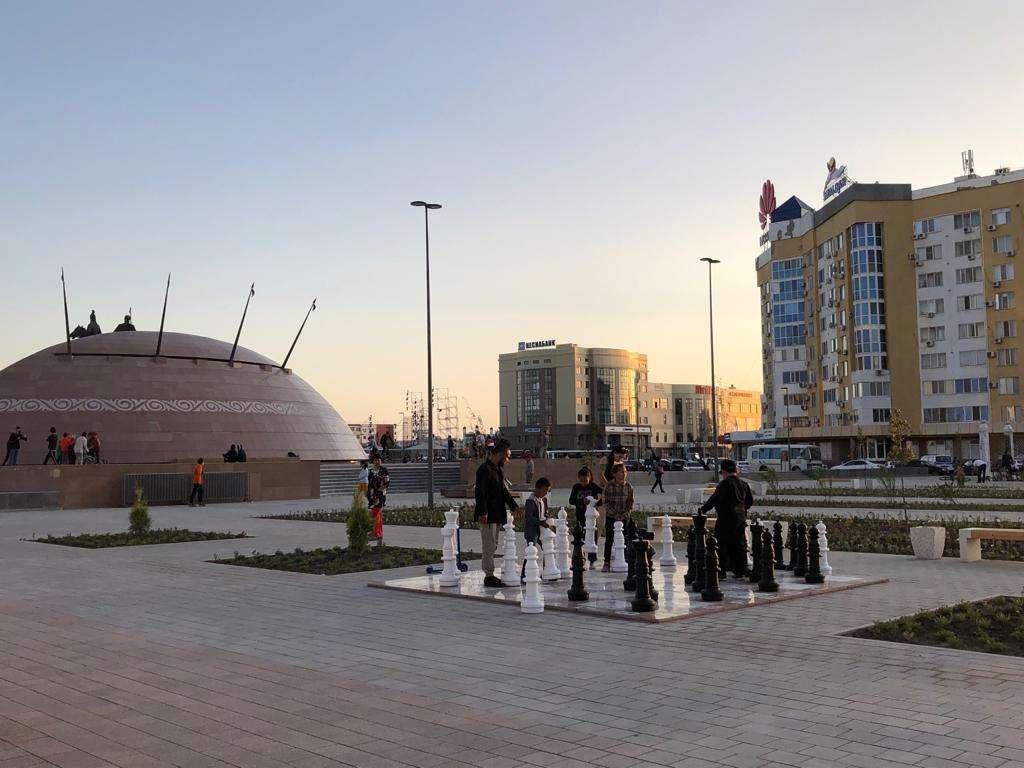 Реконструкция площади длилась год