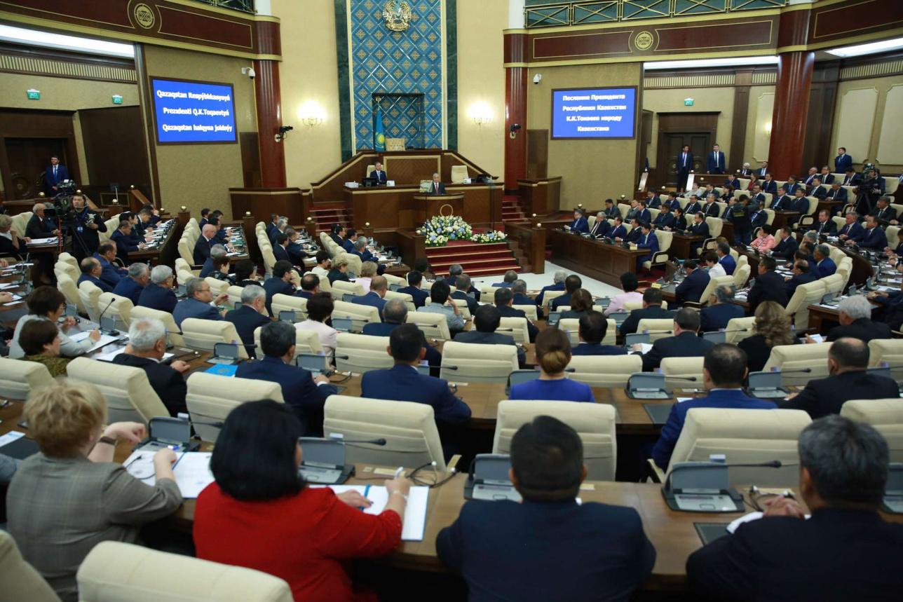 Совместное заседание палат Парламента, 2 сентября 2019 года