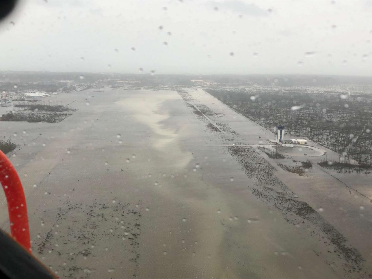 """Аэрофотоснимок наводнения после урагана """"Дориан"""" на Багамах"""