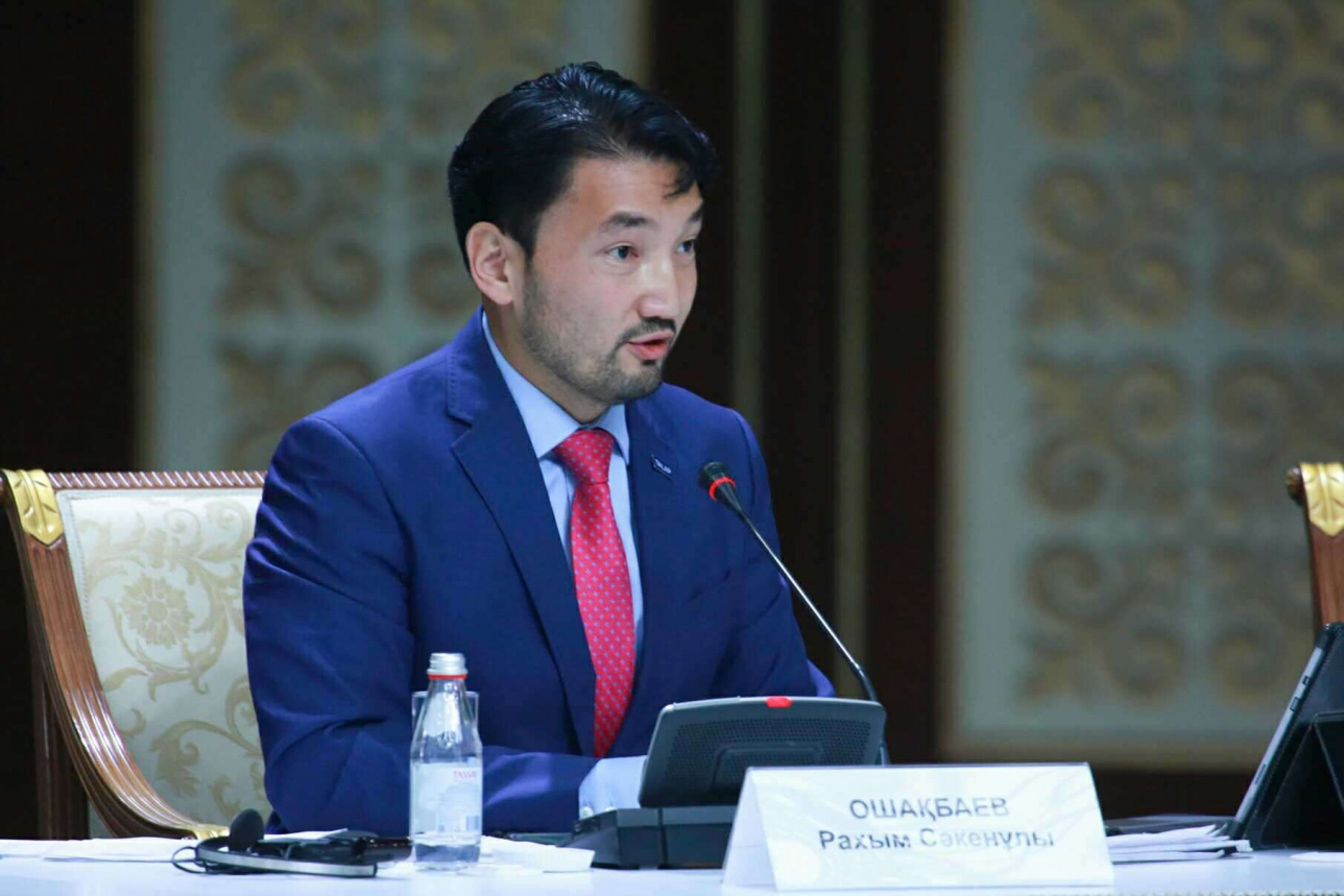 Рахым Ошақбаев, Экономикалық мәселелер бойынша топ мүшесі