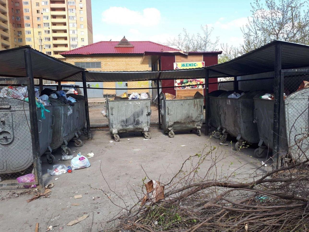 Безраздельный сбор мусора в столице