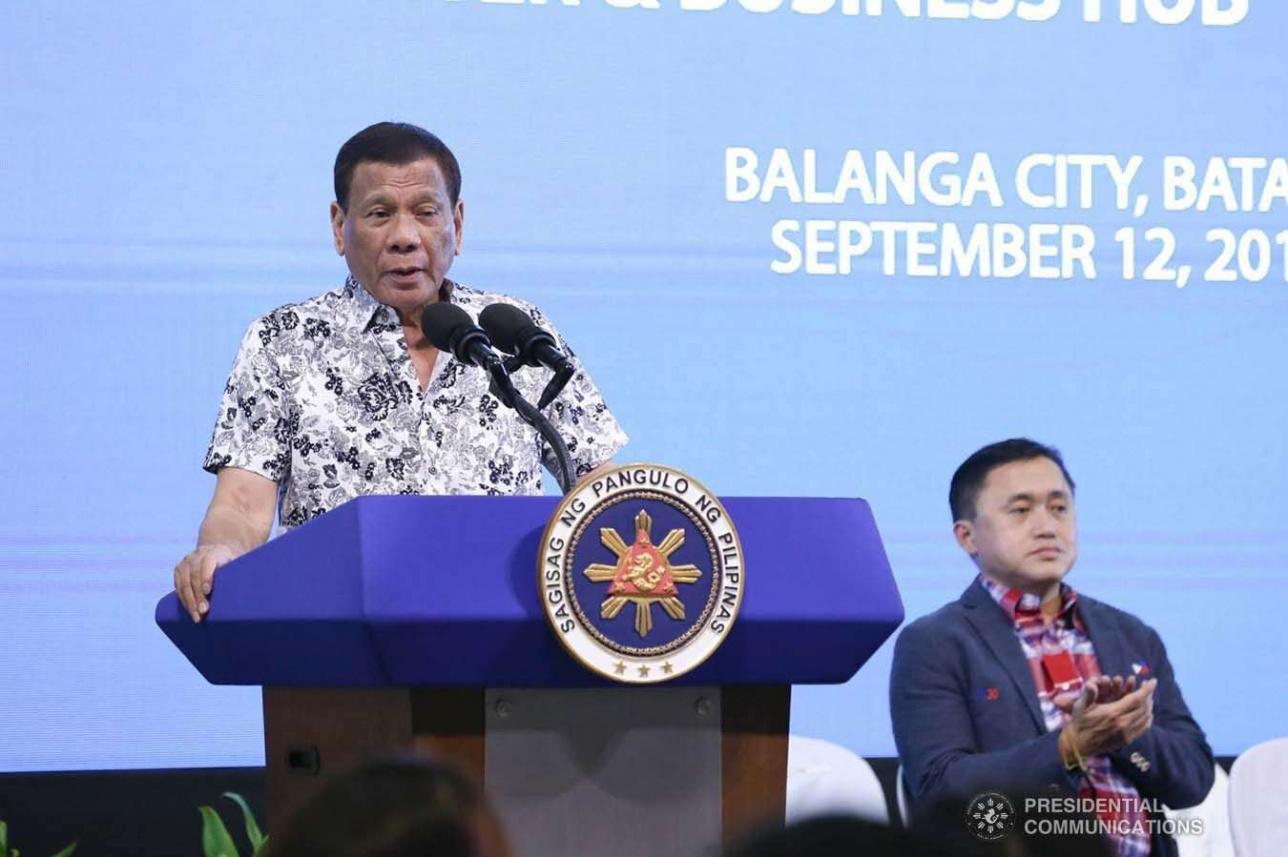 Глава Филиппин Родриго Дутерте