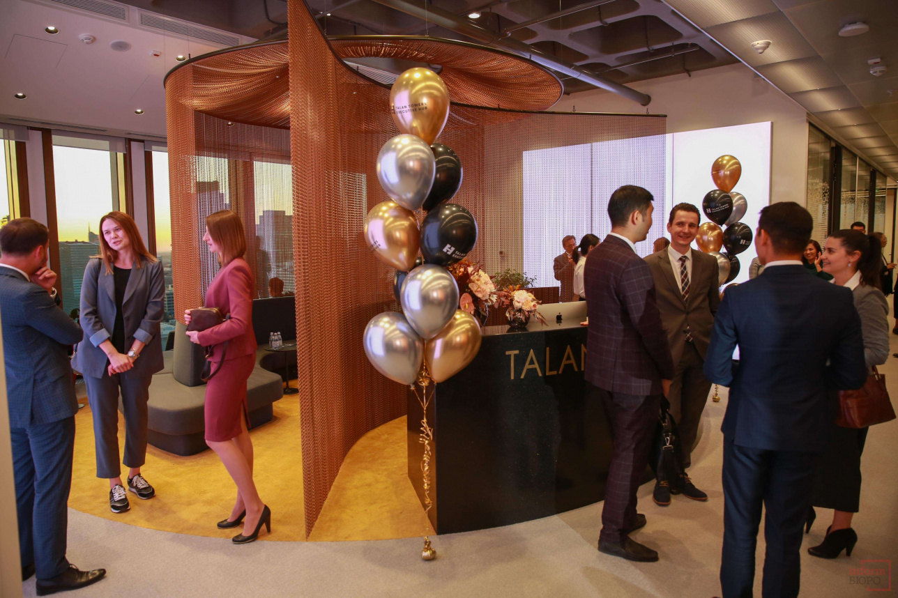 Открытие Talan Towers Executive Hab