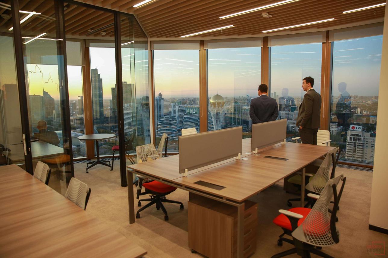 Офис с кабинетом для руководителя