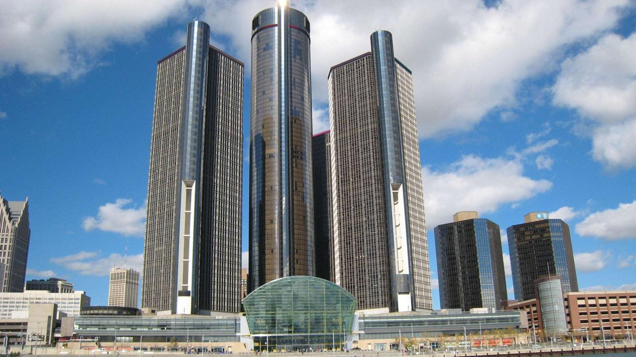 GM Ренессанс кешені 7 ғимараттан тұрады