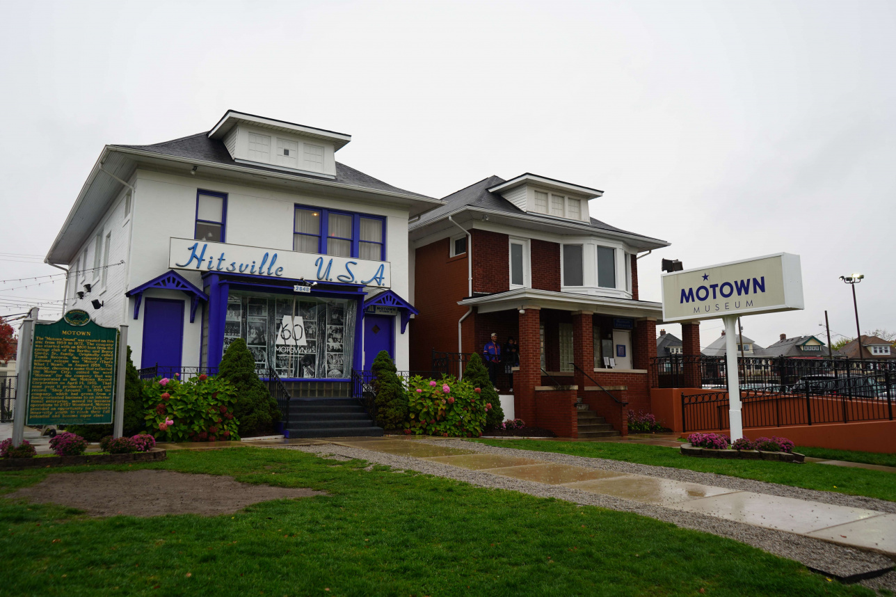 Motown музейіне кіру билетінің құны - $15